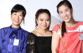 Noina (Left), Fluke (Centre), Phung (Right), Hui
