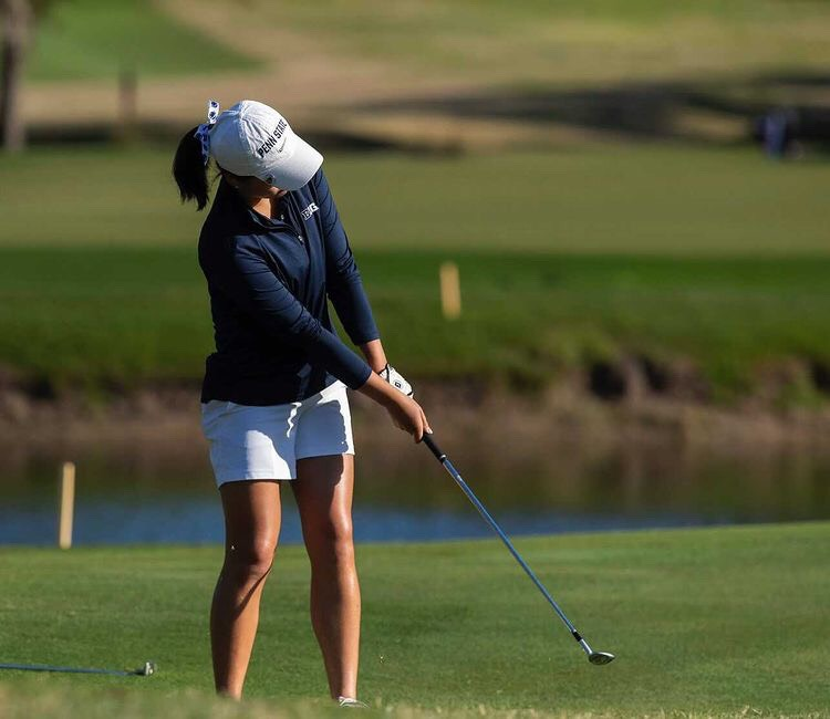 Vicky is enjoying her NCAA golf at Penn State!
